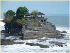 Eén van de vele tempels op Bali.