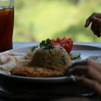 Op Bali kun je overheerlijk eten.