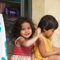 Kinderen van Bali.