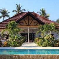 Vakantie villa met zwembad op Bali noord.