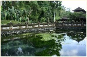 Koninklijk Paleis Klungkung Taman Gili op Bali.