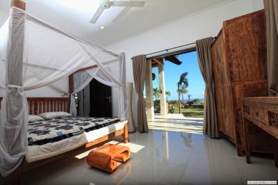 De vakantievilla beschikt over 3 ruime slaapkamers.