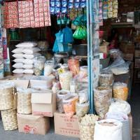 Bij de kruidenier op Bali vind je allerlei lokale producten.