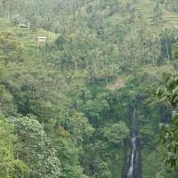 Eén van de vele watervallen op Bali.