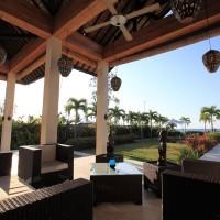 Vakantievilla in Bali met overdekt terras.