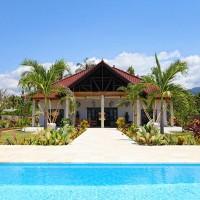 Vakantie huis op Bali met zwembad.